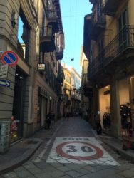 Street in the center of Milan