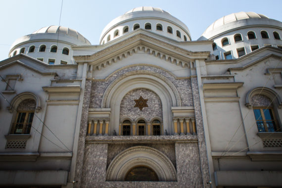 Jews in Argentina Templo Gran Paso Buenos Aires