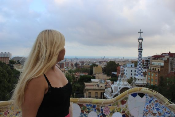 View of Barcelona from Parc Guell - so many options!
