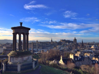 Running while Traveling in Edinburgh