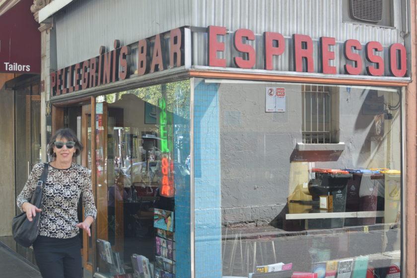 Jill and Pelligrini's in Melbourne