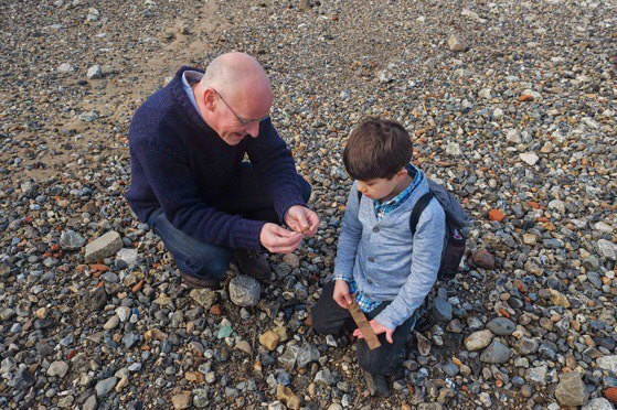 Mudlarking along the Thames