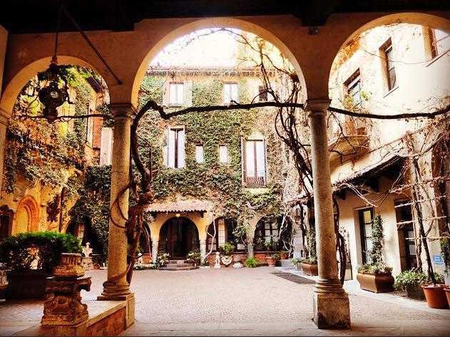 Leonardo da Vinci's vineyard is a things to do in Miland