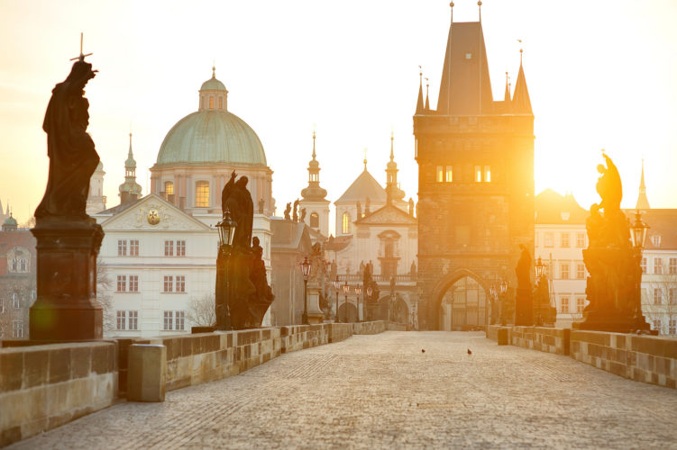 Visiting Prague and the Charles Bridge