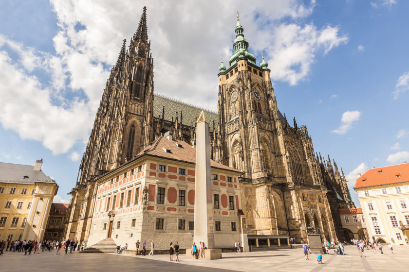 Visiting Prague Castle and the St. Vitus Cathedral