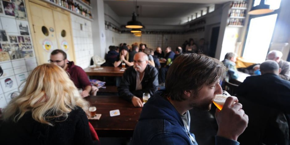 Brouwerij 't IJ, one of our picks for the best pubs in Amsterdam.