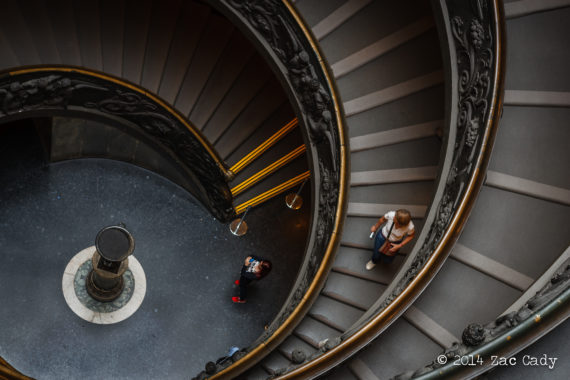 How to Visit the Vatican - Bramante Staircase