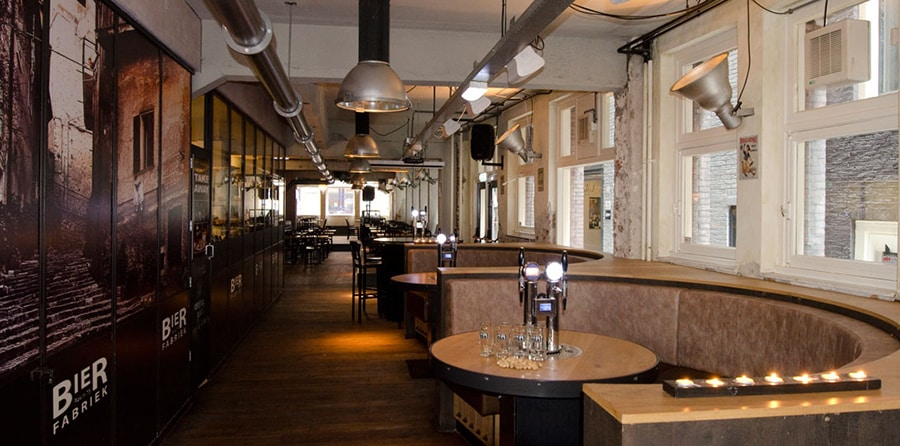 Bierfabriek makes the cut for best pubs in Amsterdam.