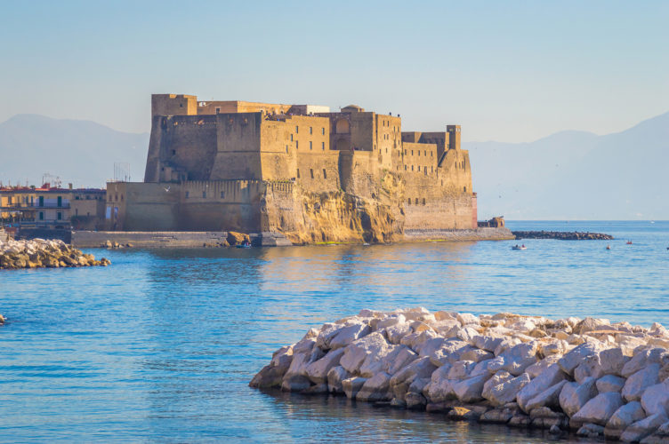 enjoy a sunset while visiting naples