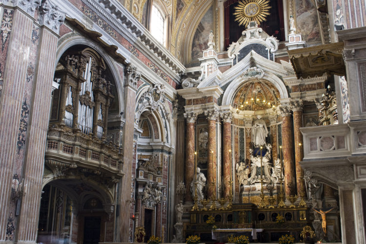 immerse yourself in the Baroque when visiting Naples