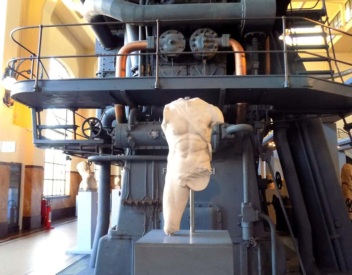 Centrale Montemartini - one of favorite things to do in Rome