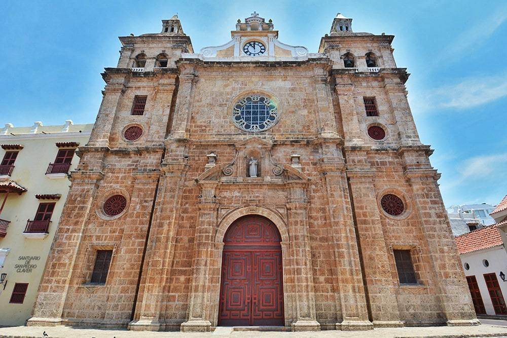 See the Iglesia San Pedro when visiting Cartagena