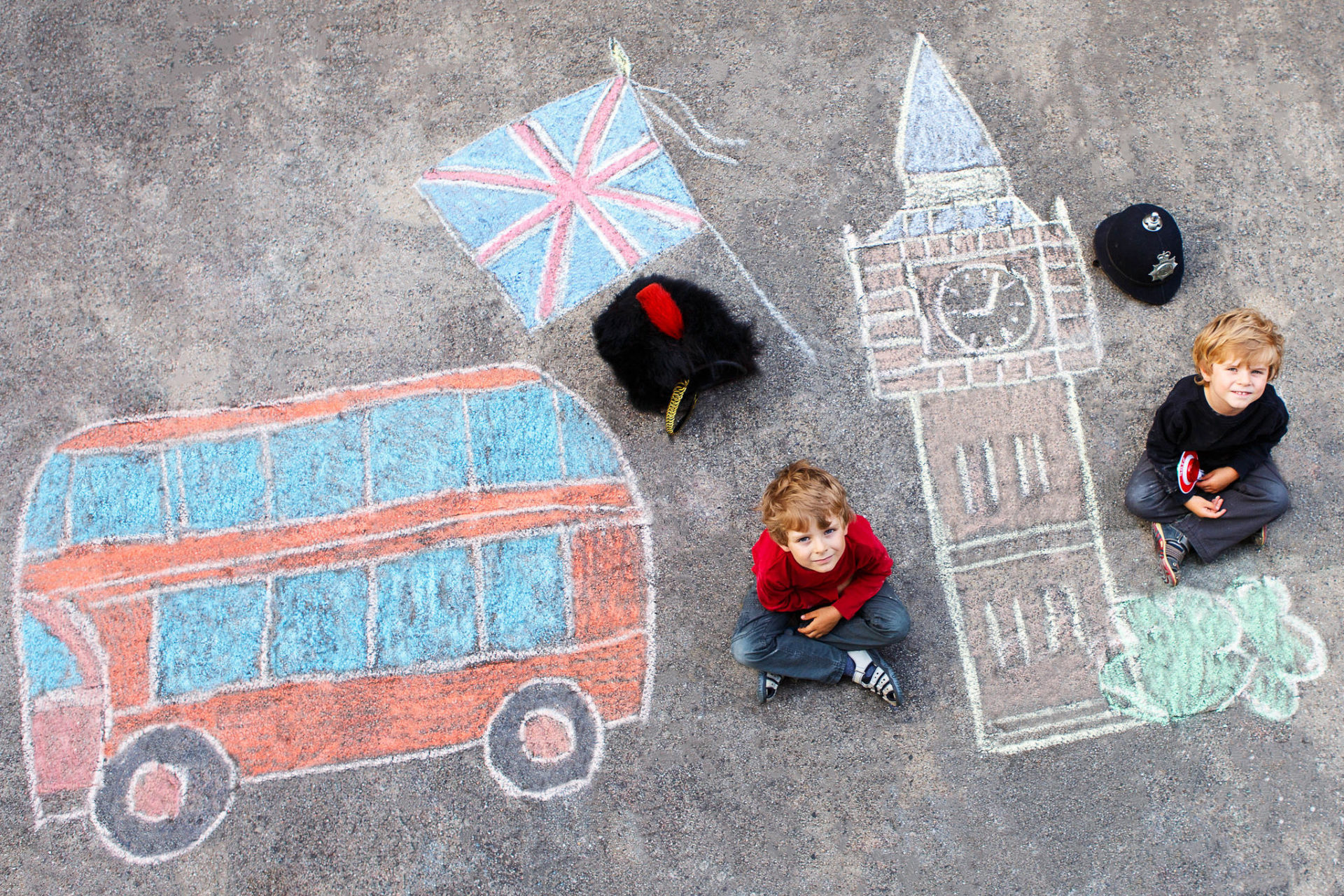 graffiti and other things to do in London with kids