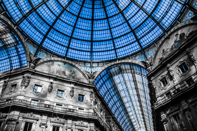 visiting Milan and its great 19th century sights