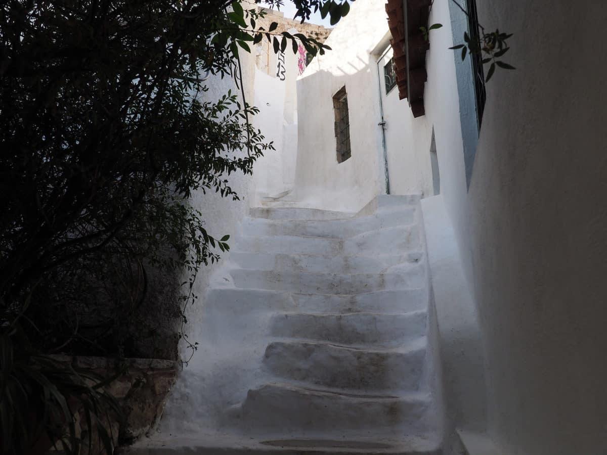 Anafiotika staircase
