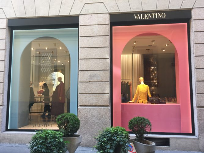 check out fashion when visiting Milan