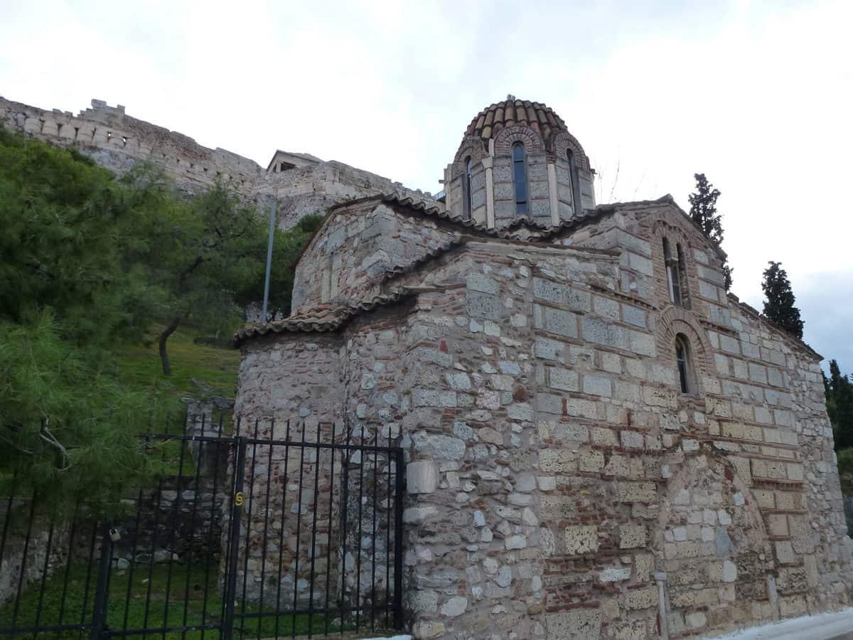 Byzantine church in Anafiotika