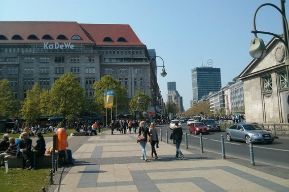 Visiting Berlin - Charlottenburg