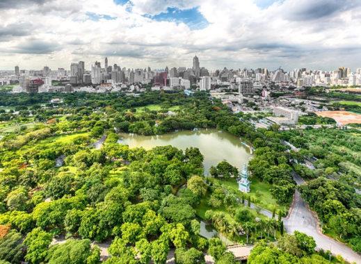 Visiting Bangkok - Lumpini Park