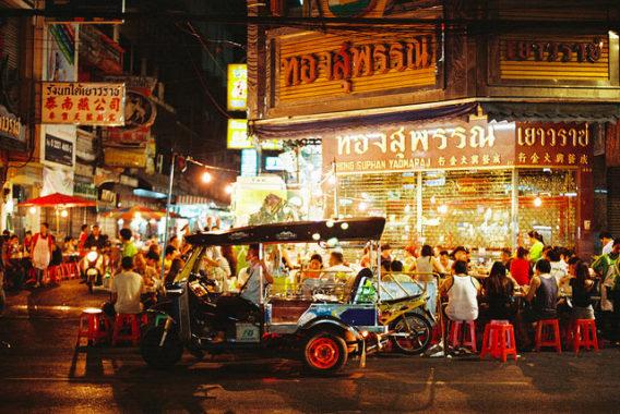 Visiting Bangkok - Chinatown Street Market