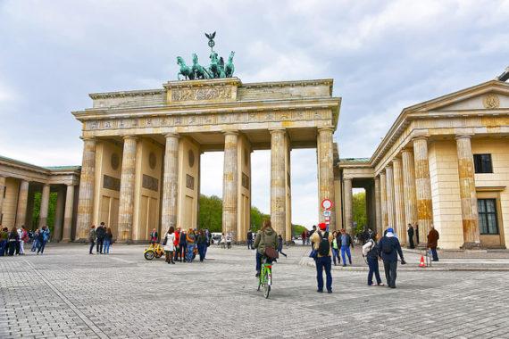 Visiting Berlin - Brandenburg Gate