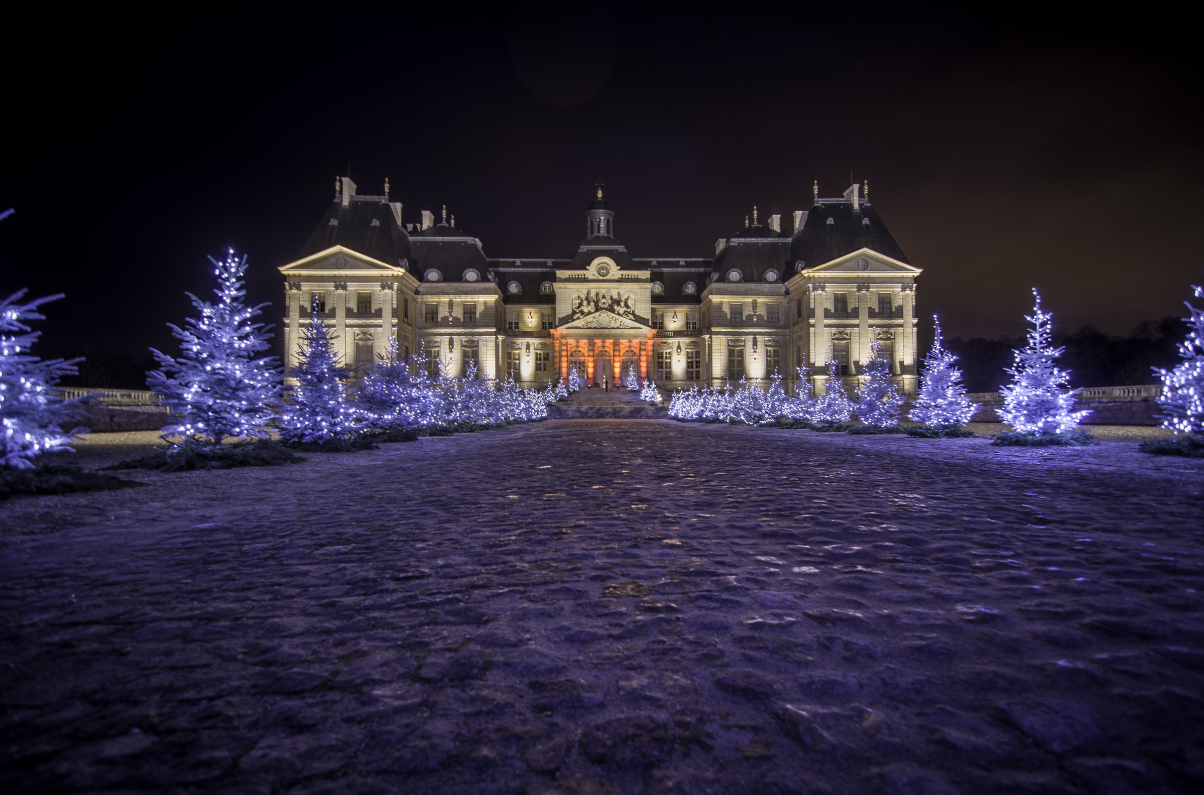 Christmas in Paris: Christmas at Château de Vaux-le-Vicomte. Photo: Château de Vaux-le-Vicomte.
