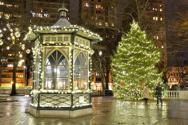 Christmas in Philadelphia - Rittenhouse