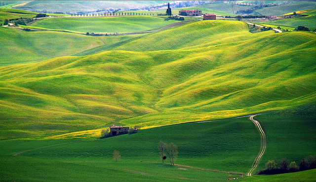 Spring in Tuscany - Val D'Orcia