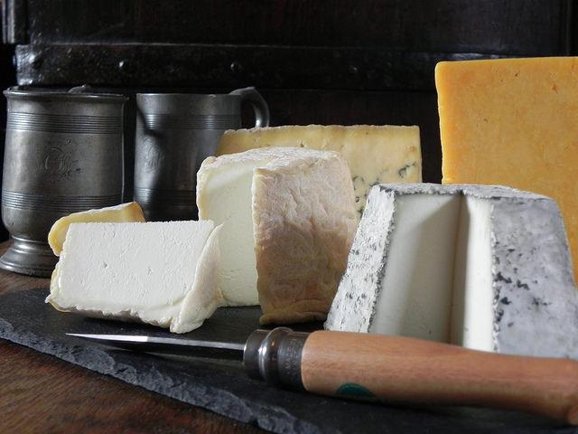 Histoire du fromage britannique