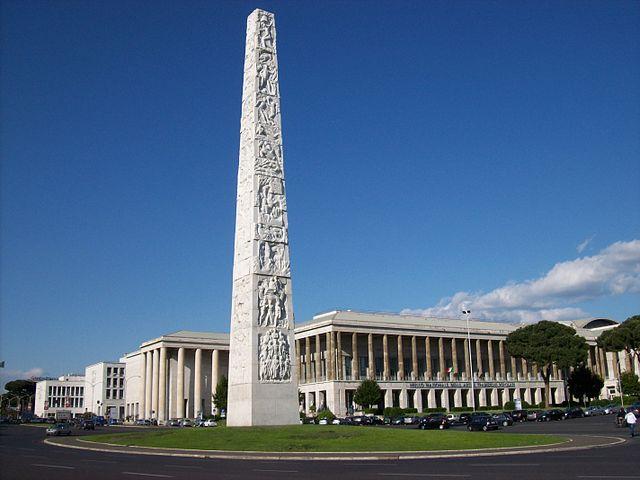 Architecture fasciste à Rome