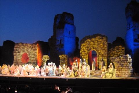 Opera At The Baths 2008 Season Context Travel Blog